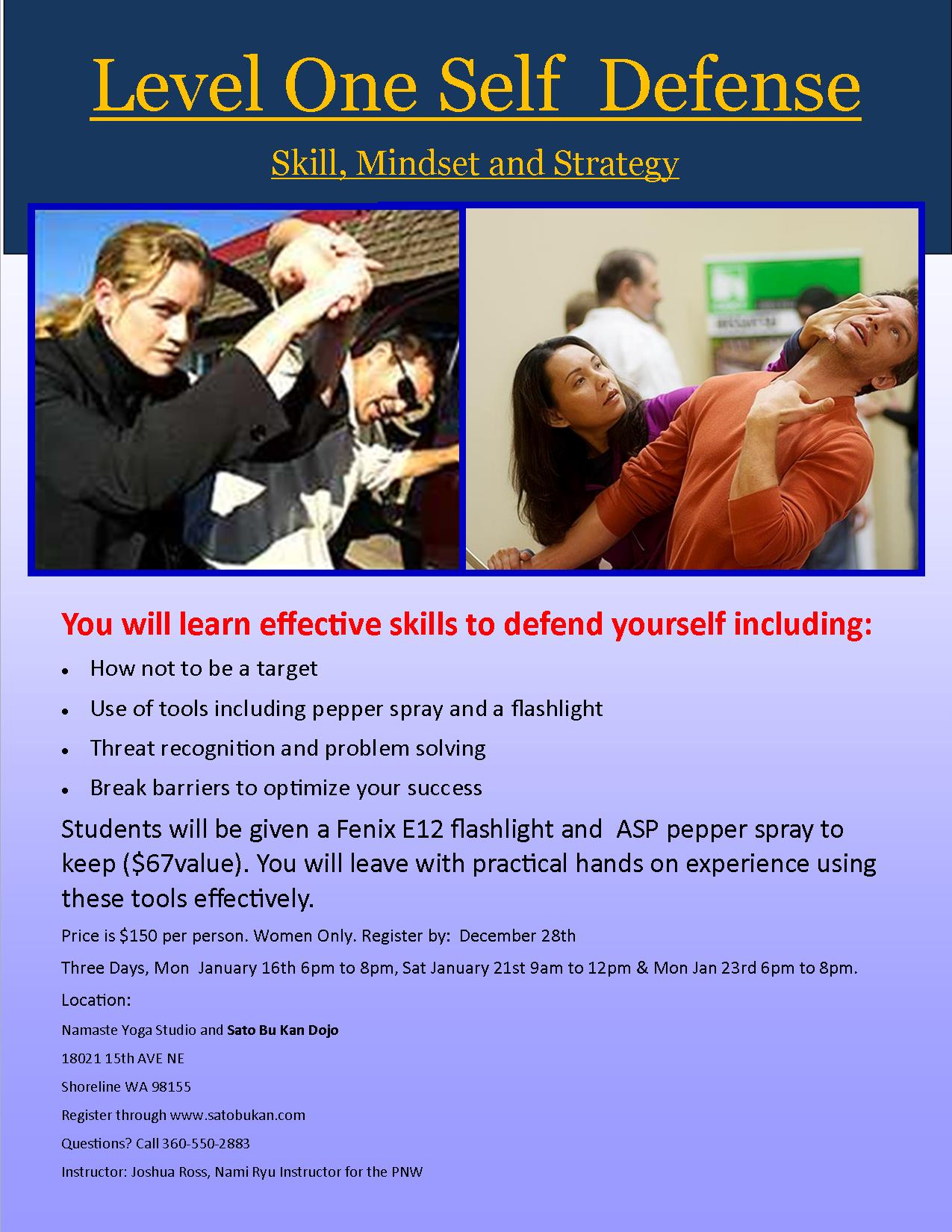 level-one-self-defense-course